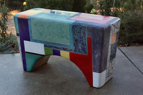 Mondrianish - Bench