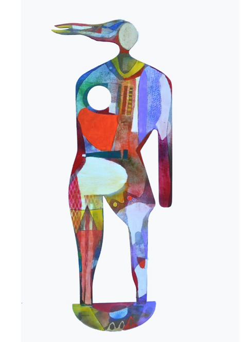 """""""Man / Woman Steel Standing Sculptures"""""""