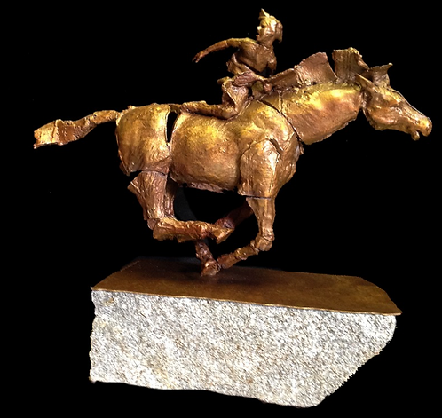 """Jockey of Artemis No. 20"" SOLD"