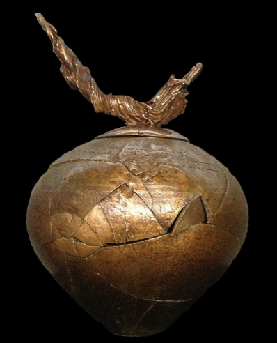 """Artifact 3 with Grapevine Lid"""