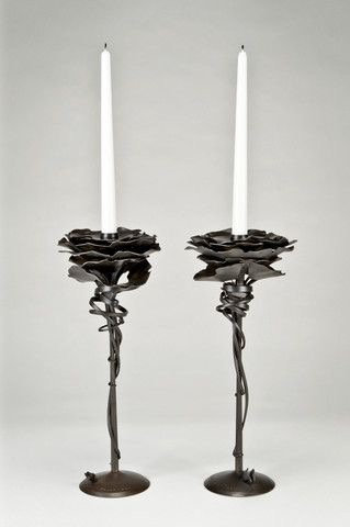 Gingko Candle holder