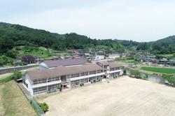 空から見た学校