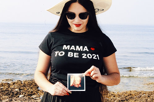 T-shirt allaitement MAMA TO BE 2021