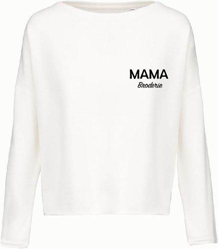 SWEAT LOOSE BRODE MAMA
