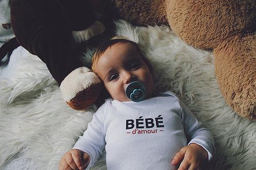 body bébé d'amour MC