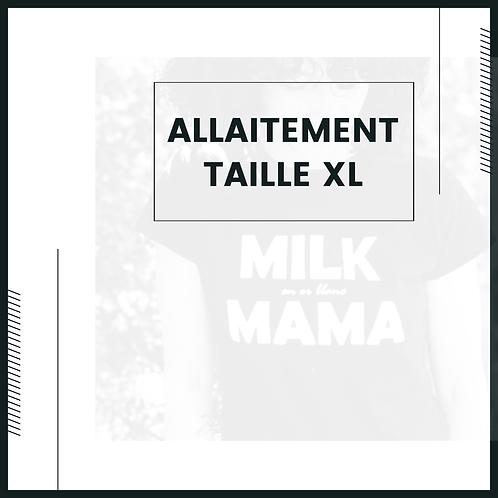 TAILLE XL - ALLAITEMENT DISPO