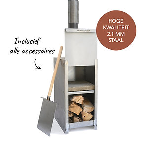 Pizza oven compleet, inclusief alle accessoires