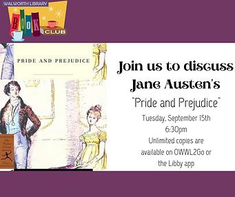 September book club_Pride and Prejudice_