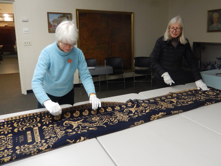Visit to Historical Society of Rockland County
