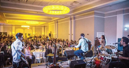 Ben OConnor's sold out album showcase at Gurney's Resorts.