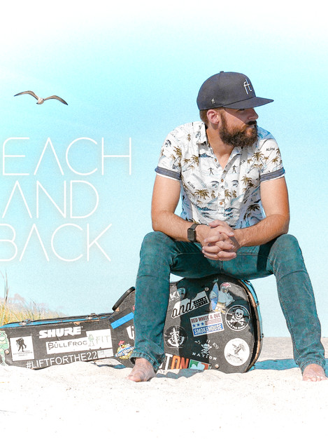 "Brand NEW single, ""Beach and Back"" scheduled for exclusive release 09/12"