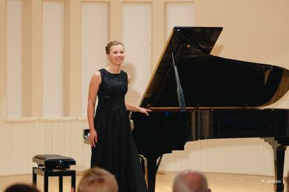 Emilija Šukytė in Palanga