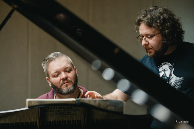 Caleb Flick is Claude Debussy's Brother