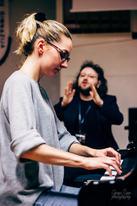 Piano lesson with Karolina Pancernaitė