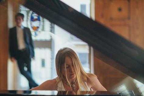 Diana Voronetskaya rehearses Chopin