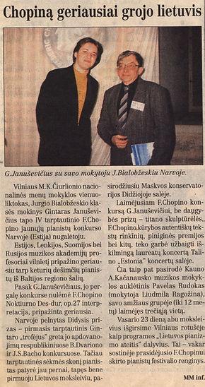 2002-02-19 Chopina geriausiai grojo liet