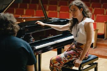 Lesson with Maria Grecu