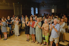 Standing ovations in Palanga Kurhaus