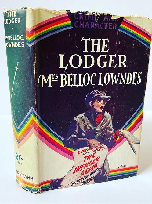 THE LODGER by Mrs Belloc Lowndes