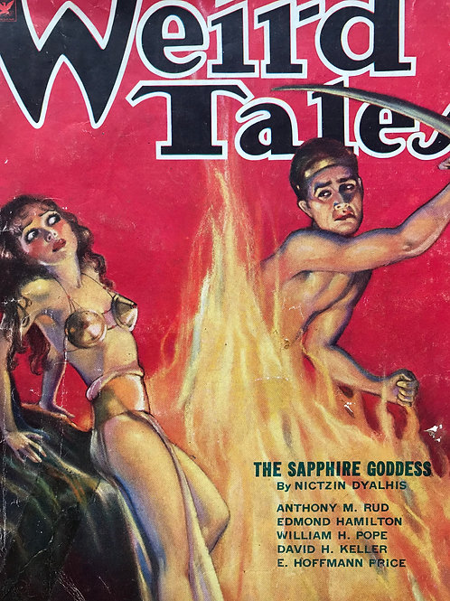 Weird Tales Magazine, February 1934. Volume 23, Number 2