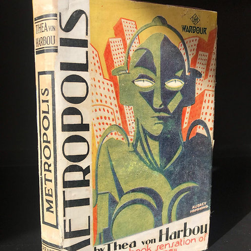 METROPOLIS by THEA VON HARBOU