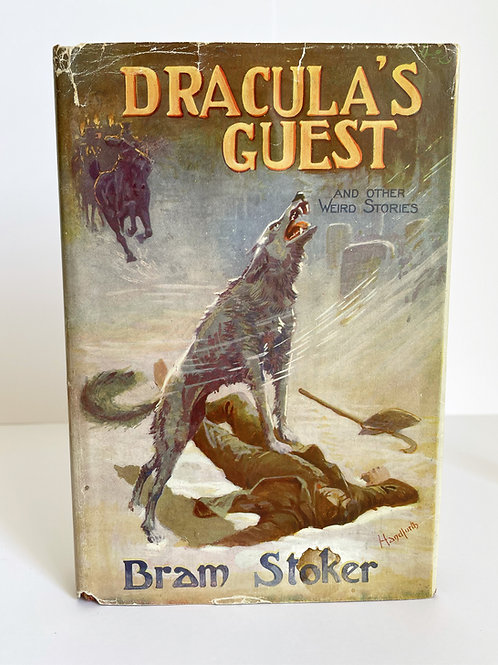 Dracula's Guest and Other Weird Stories by Bram Stoker