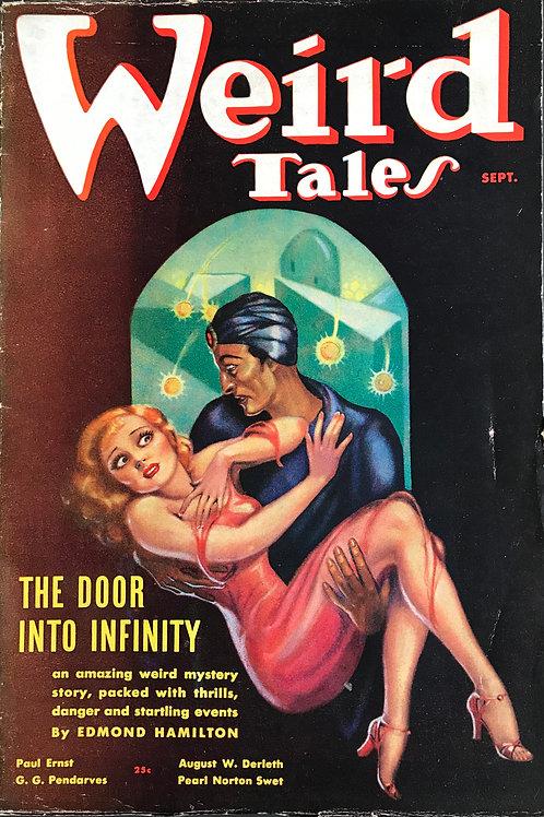 Weird Tales Magazine, Aug/Sept 1936. Volume 28, Number 2