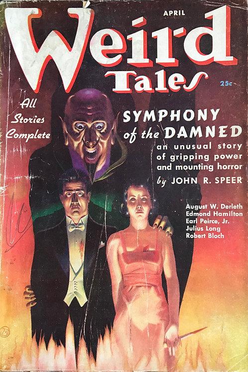 Weird Tales Magazine, April 1937. Volume 29, Number 4