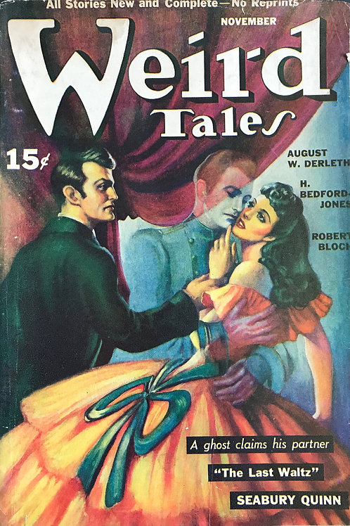 Weird Tales Magazine, November 1940