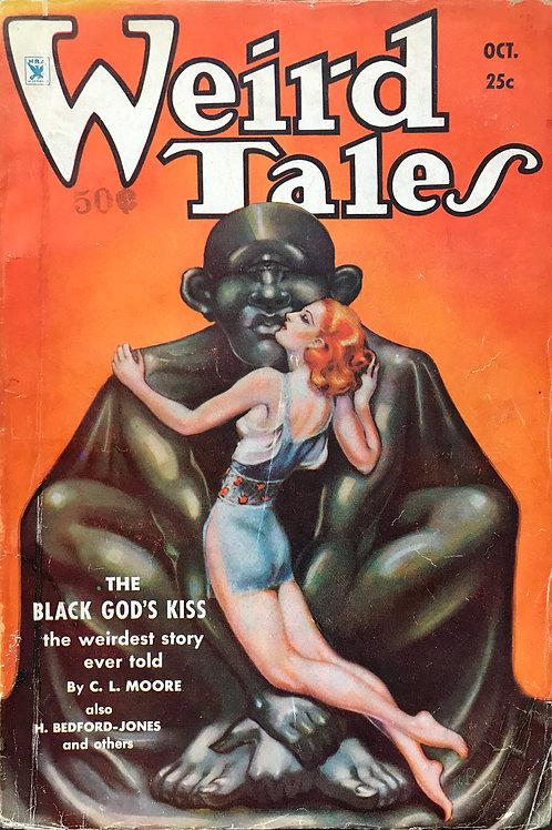 Weird Tales Magazine, Oct 1934. Volume 24, Number 4