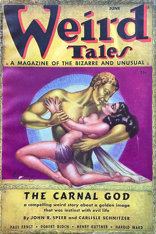 Weird Tales Magazine, June 1937. Volume 29, Number 6