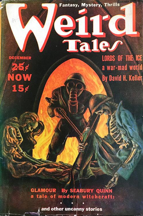 Weird Tales Magazine, Dec 1939. Volume 34, Number 6