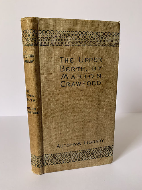 THE UPPER BERTH by F Marion Crawford