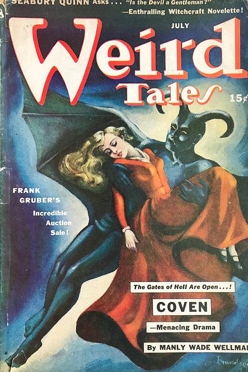 Weird Tales Magazine, July 1942