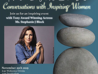 """""""The Eight Senses: Conversations With Inspiring Women,"""" featuring Stephanie J. Block, on N"""