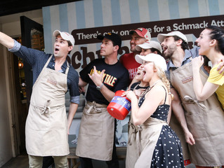 Broadway's Brightest Stars Celebrate Broadway Bakes at Schmackary's