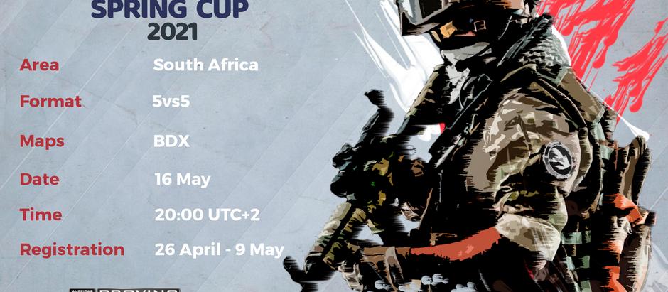 Registration Spring Cup 2021 SA
