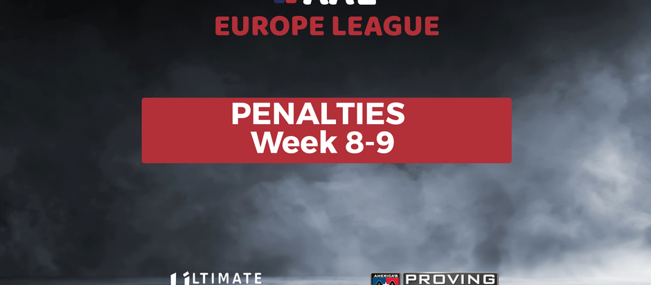 AAL  PENALTIES WEEK 8-9