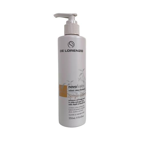 De Lorenzo Novafusion Beige Blonde Shampoo -250ml