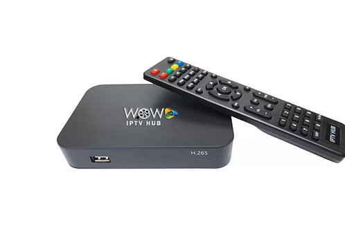 WOW IPTV HUB + FREE Home Delivery