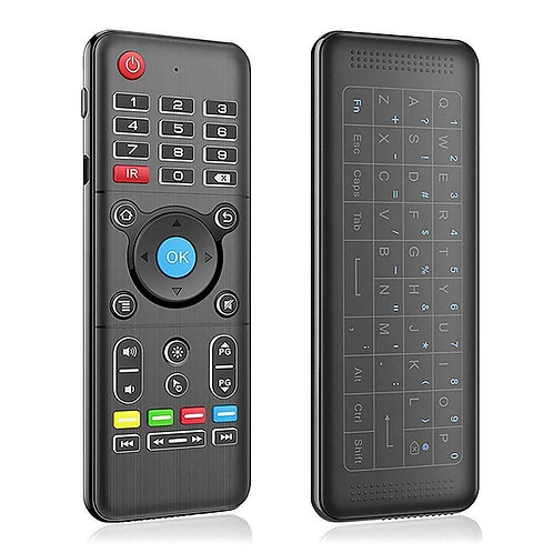 Wireless Chargeable Air Mouse + Keypad and IR Learning Remote