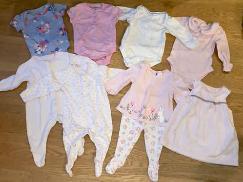 0-6 months baby girl's bundle