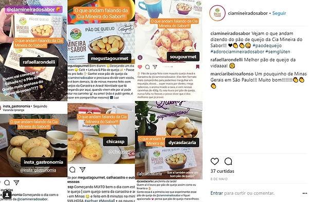 Comentários Instagram