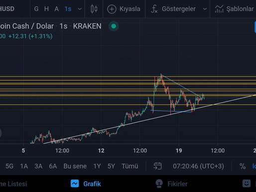 BCH/USD Analiz 21.08.2021