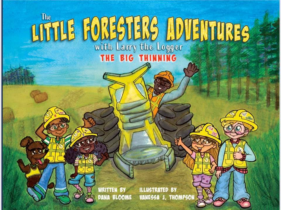 The Little Foresters Adventures with Larry the Logger