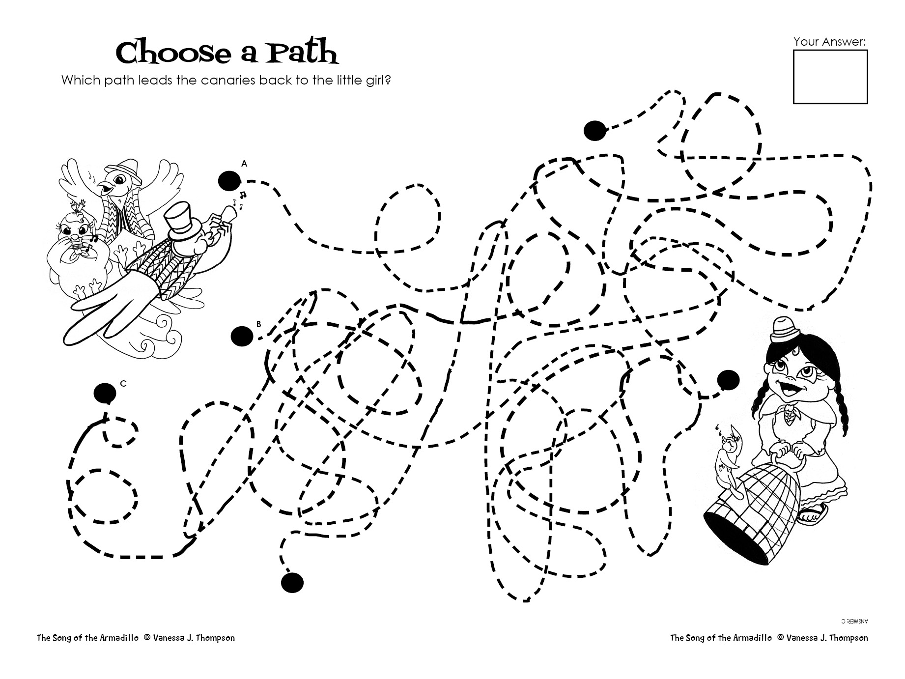 Choose A Path Activity