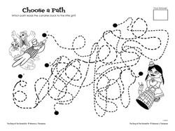 Choose A Path Activity
