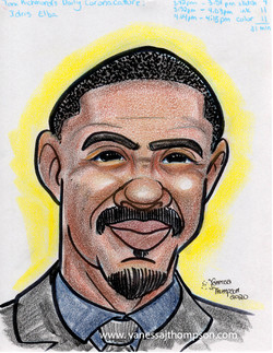 idris elba caricature