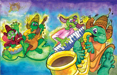 Frogs' Boogie Bog