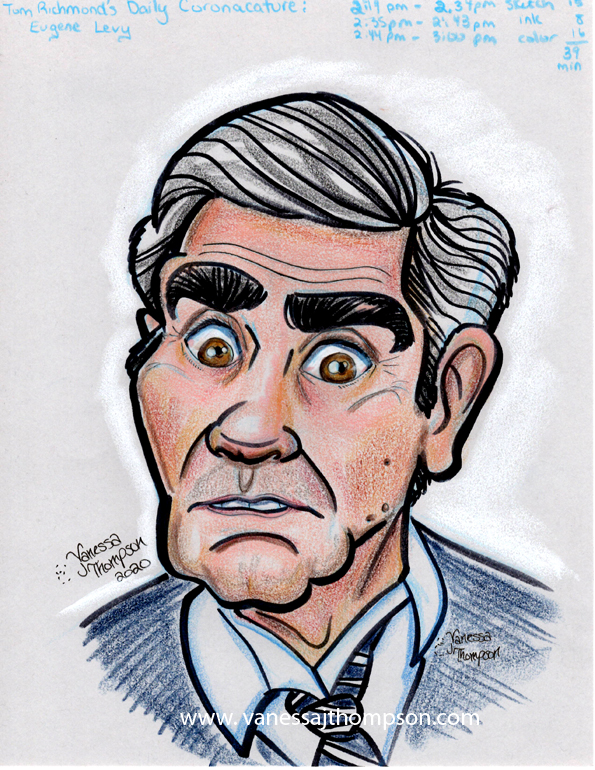 eugene levy caricature